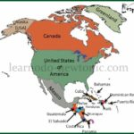 Learn the Map of North America
