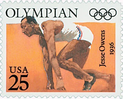 Jesse Owens 1990 Stamp