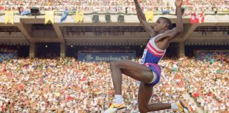 Carl Lewis Olympics Featured