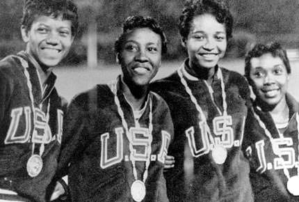 1960 American Olympic Gold Winning Relay Team
