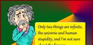 Einstein quote on infinite