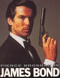 Peirce Brosnan with a Walther PPK