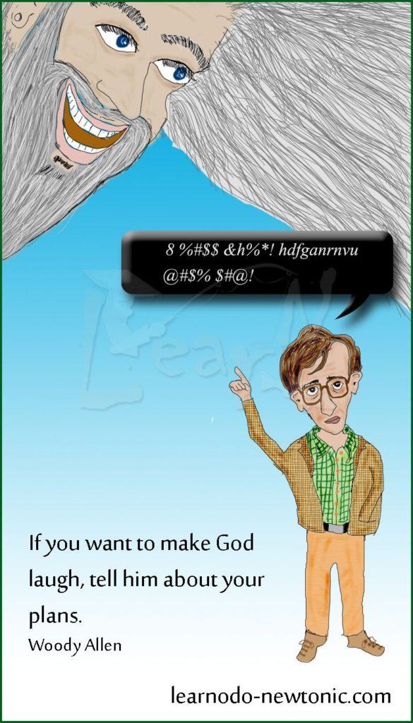 Woody Allen on god