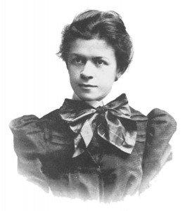 First wife of Einstein