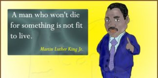 """A man who won't die..."" 