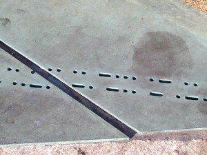 Morse Code at Kryptos