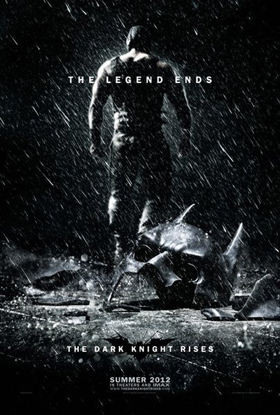10 best movie posters 2012 - The Dark Night Rises