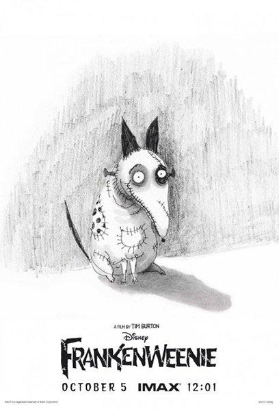 10 best posters 2012 - Frankenweenie