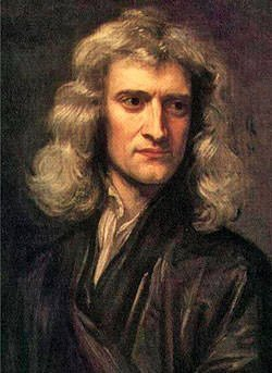 Portrait of Isaac Newton by Godfrey Kneller