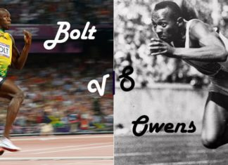 Usain Bolt Vs Jesse Owens Featured