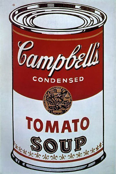 Campbell's Soup Cans by Andy Warhol