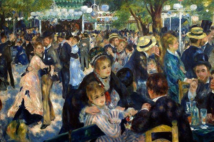 Bal du moulin de la Galette by Pierre-Auguste Renoir