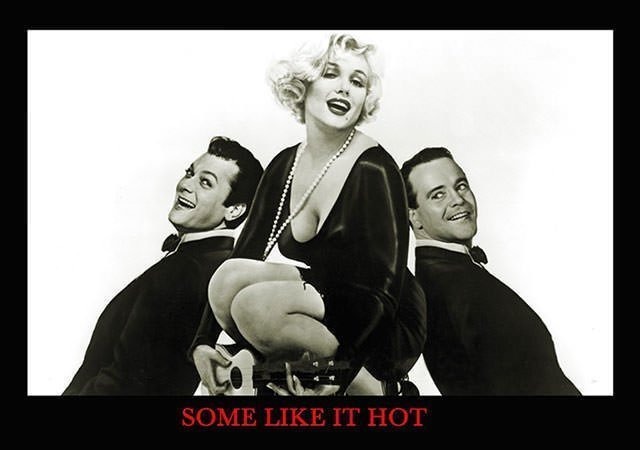 Marilyn in Some Like it Hot