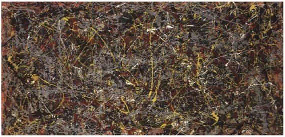 No. 5, 1948 - Jackson Pollock