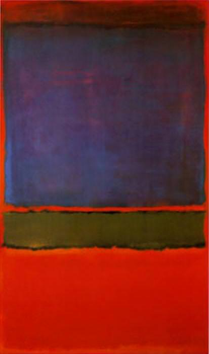 No. 6 (Violet,Green & Red)