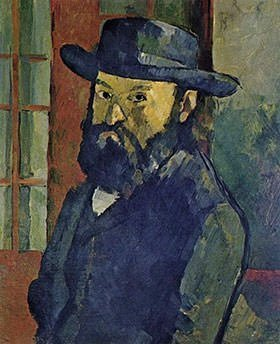 Self-Portrait (1879-1882) - Paul Cezanne