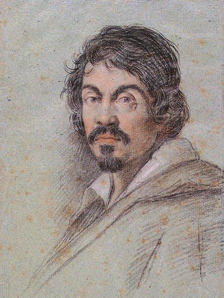 Potrait of Caravaggio by Ottavio Leoni