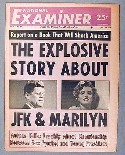 Marilyn and JFK Affair