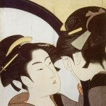 Beauty at her toilet by Kitagawa Utamaro