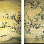 Birds and Flowers of the Four Seasons by Kano Eitoku and his father