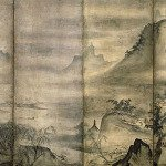 Landscape of the Four Seasons by Tensho Shubun
