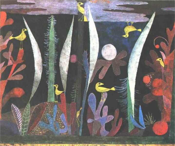 Landscape with Yellow Birds by Paul Klee
