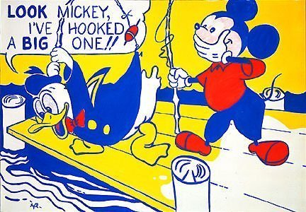 Look Mickey by Roy Lichtenstein