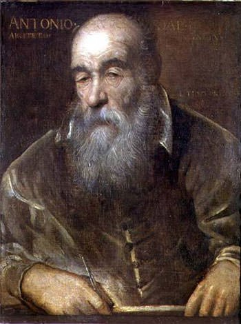 Portrait of Antonio da Ponte, the architect of Rialto Bridge