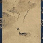 Water fowl in the Lotus Pond by Tawaraya Sotatsu