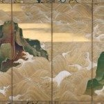 Waves at Matsushima by Ogata Korin