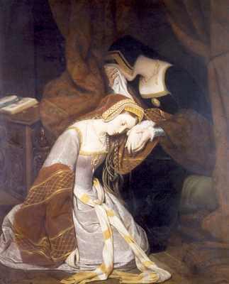 Anne Boleyn in the London Tower