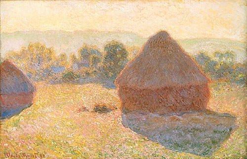 Haystacks Midday