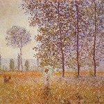 Poplars in the Sun, 1887