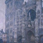 Rouen Cathedral Grey Weather, 1894,