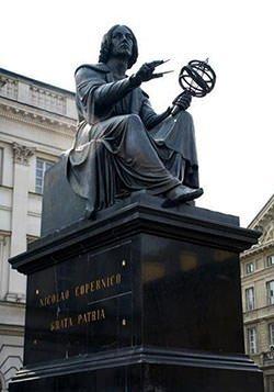 Statue of Nicolaus Copernicus