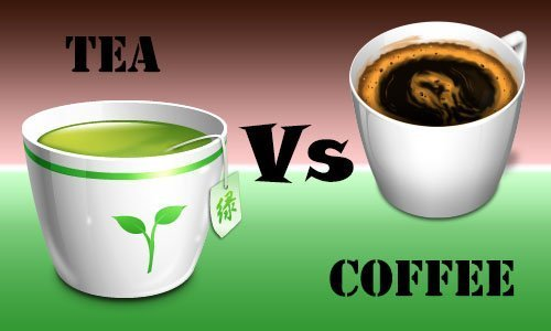 Pros and cons of tea and coffee