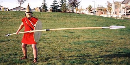 Sarissa - long Greek spear