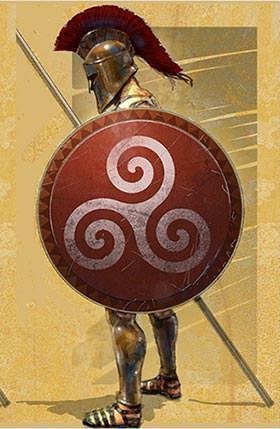 Hoplon - Anicent Greek Shield