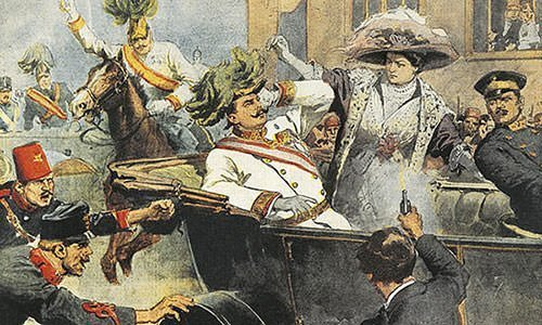 Beltrame's Illustration of the assassination