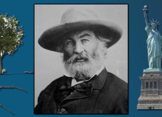 Walt Whitman Famous Poems Featured