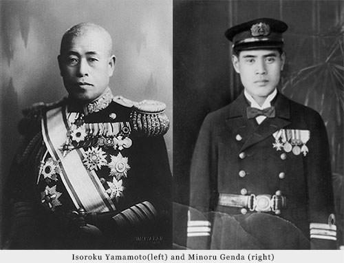 Isoroku Yamamoto and Minoru Genda