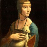 Lady with an Ermine (1490) - Leonardo Da Vinci