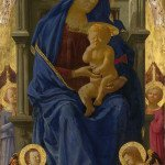 Madonna and Child with Angels (1426) - Masaccio