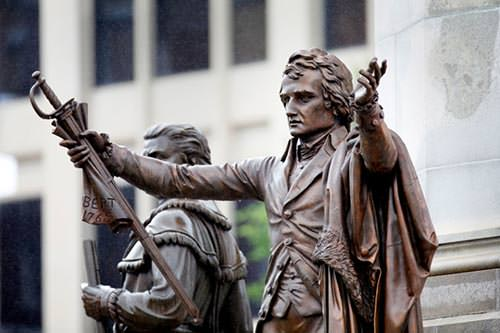 Patrick Henry statue in Richmond
