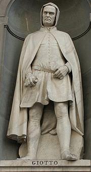 Statue representing Giotto