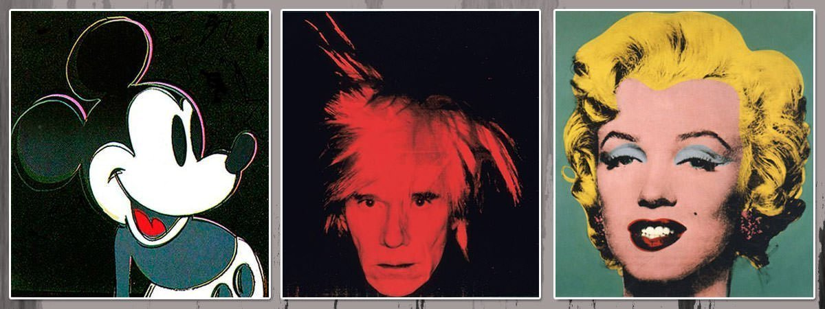 Andy Warhol Famous Paintings Featured