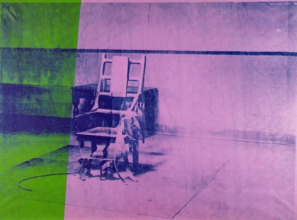 Big Electric Chair (1967) - Andy Warhol