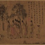A section of Nymph of the Luo River - Gu Kaizhi
