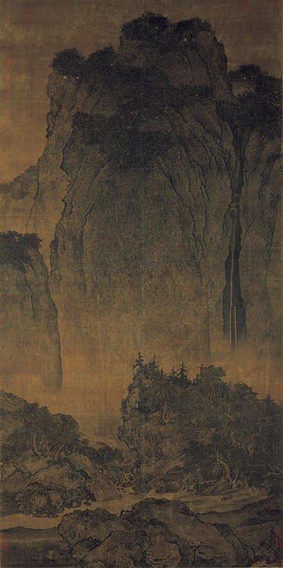 Travelers among Mountains and Streams - Fan Kuan