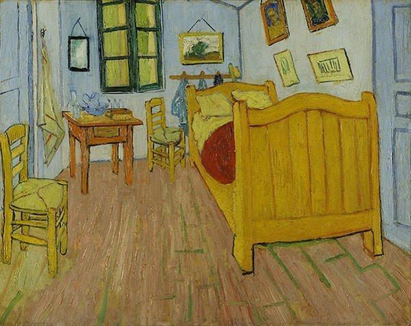 Bedroom in Arles - Vincent Van Gogh
